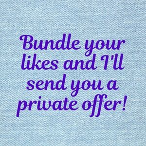 Bundle 2 or more items and get at least 15% off!